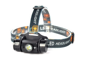 led head lamp with IR control