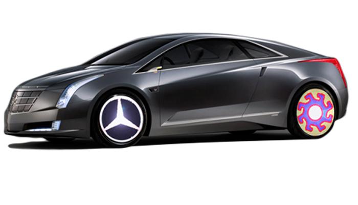 animation effect on car wheel