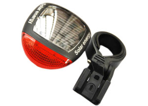 bike rear light solar powered