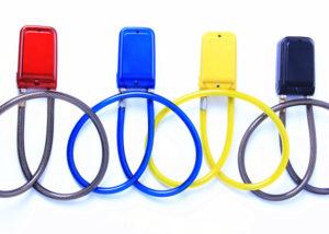 alarming code rope lock 4 colors