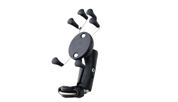 phone and Pad mount holder for motorcycle