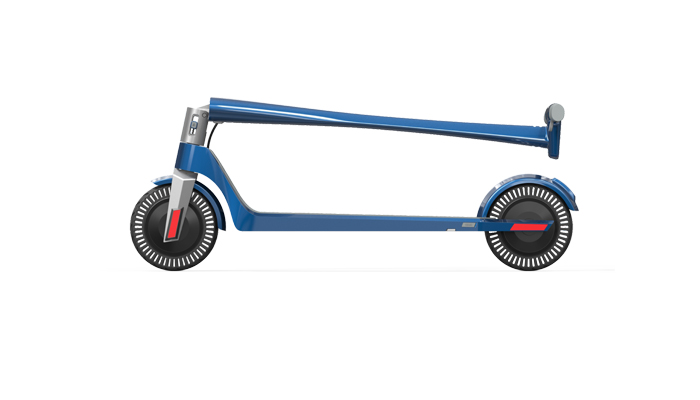 unparalleled E scooter